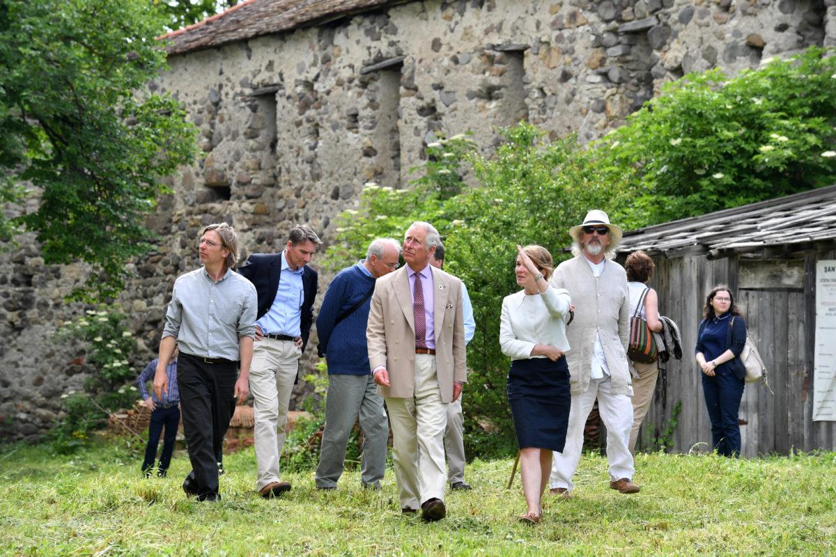 British TV News: The Prince's Welsh Village